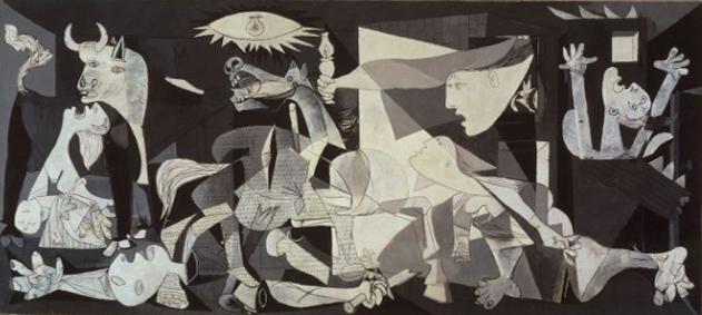 10 najsłynniejszych obrazów świata - Pablo Picasso obraz Guernica