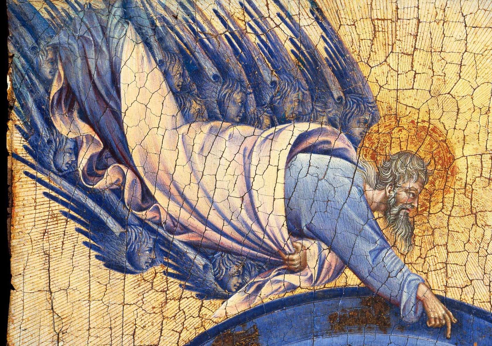 Giovanni di Paolo, Stworzenie świata i Wygnanie z Raju, fragment