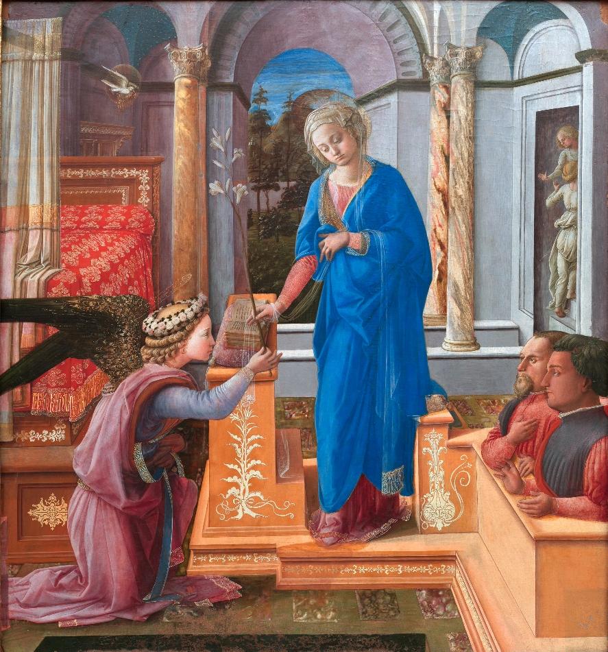 Fra Filippo Lippi i jego obraz Zwiastowanie