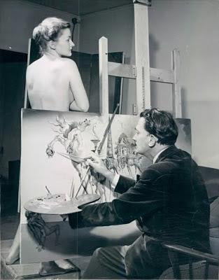 Salvador Dali, Kuszenie Świętego Antoniego współczesne obrazy do pokoju