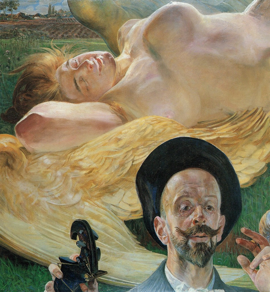 Jacek Malczewski Harpia we śnie, obraz olejny malarze polscy polskie malarstwo1