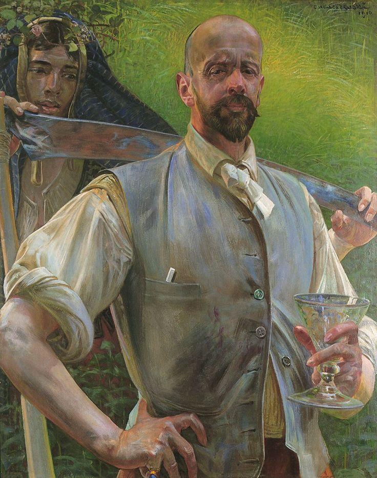 Malczewski Autoportret z Meduzą foto obrazy do pokoju i salonu2