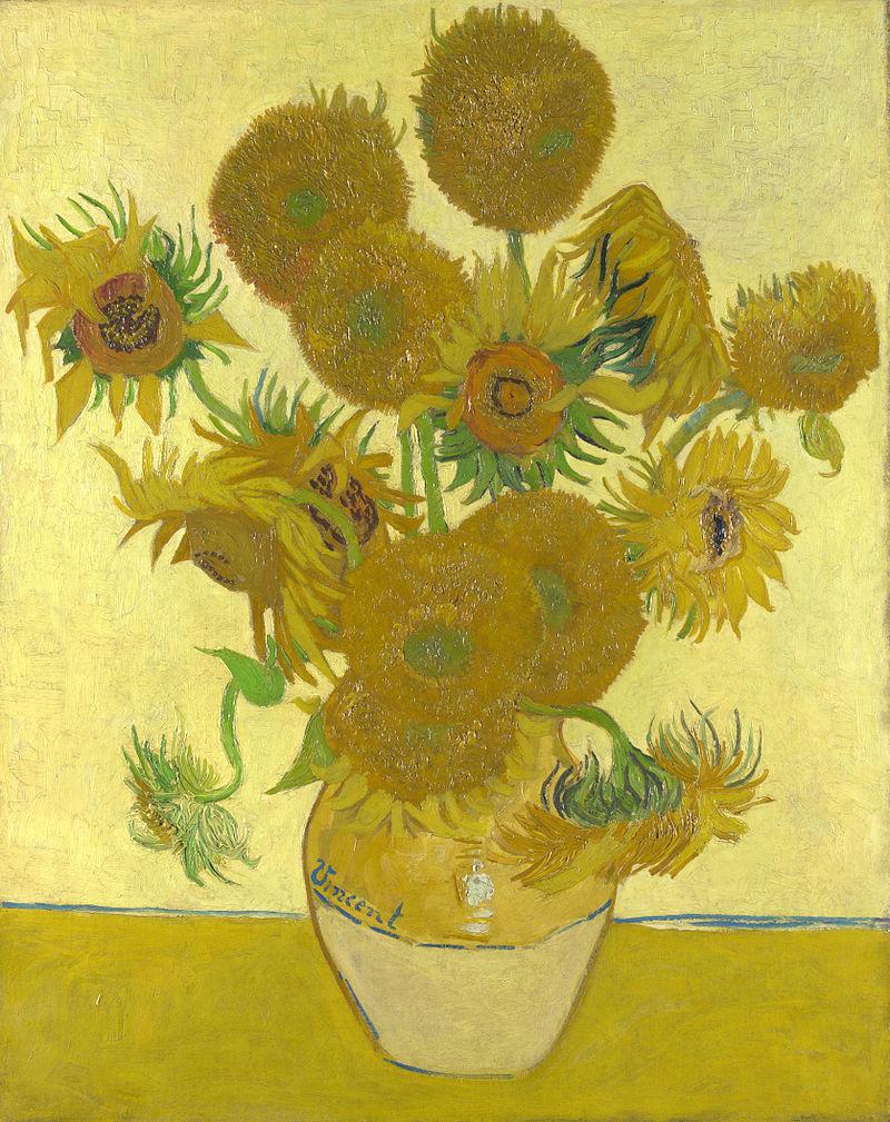 Słonecznki Van Gogha reprodukcje na płótnie, obrazy na płótnie Bielsko Biała kwiaty