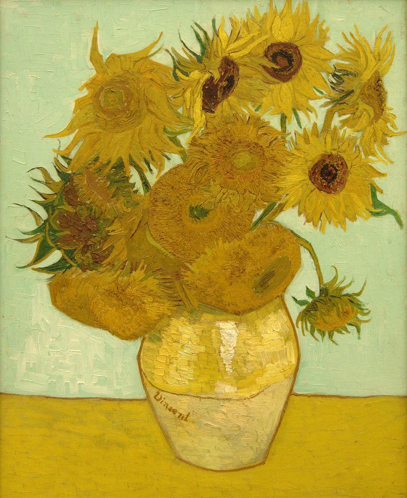 Słonecznki Van Gogha reprodukcje na płótnie, obrazy na płótnie bez ramy kwiaty
