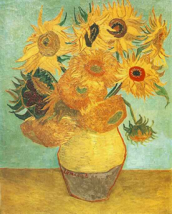 Słonecznki Van Gogha reprodukcje na płótnie, obrazy na płótnie do kuchni Białystok