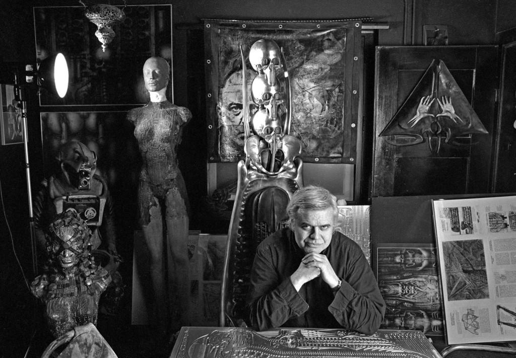H.R. Giger i Beksiński, malarstwo fantastyczne realizm kubizm turpizm fotodruki na płótnie