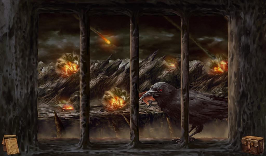 Beksiński gra Tormentum Dark Sorrow obrazy olejne i kopie Beksińskiego na płótnie