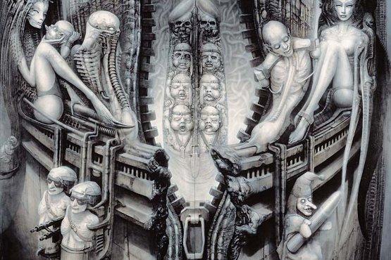 H.R Giger i Beksiński malarstwo fantastyczne galeria giger, wydruki wielkoformatowe na płótnie Toruń