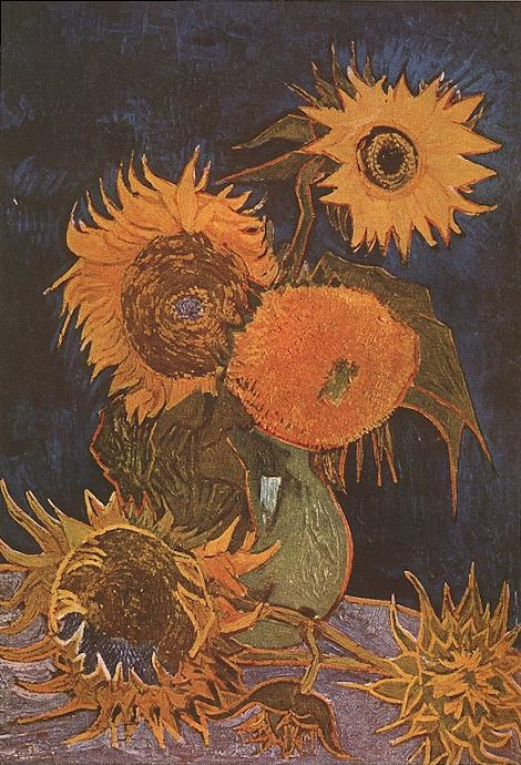 Galeria obrazów Słoneczniki van Gogha