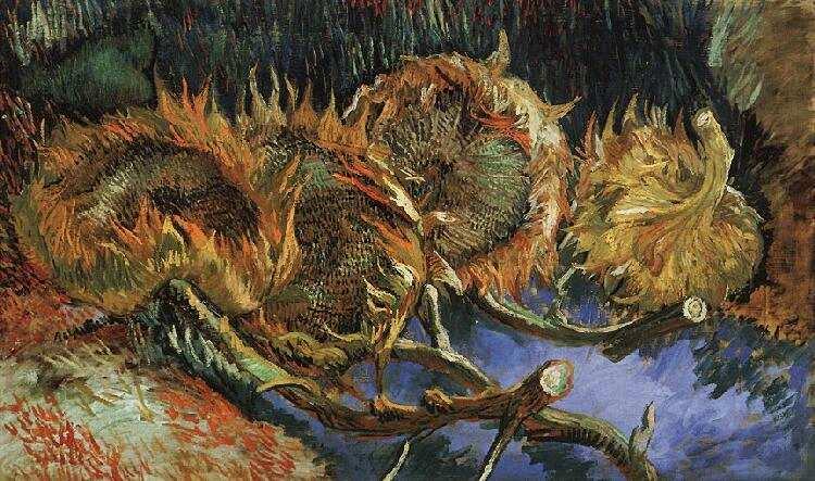 van Gogh Słoneczniki obrazy na płótnie olejne reprodukcje malarstwa dekoracje duże formaty 1