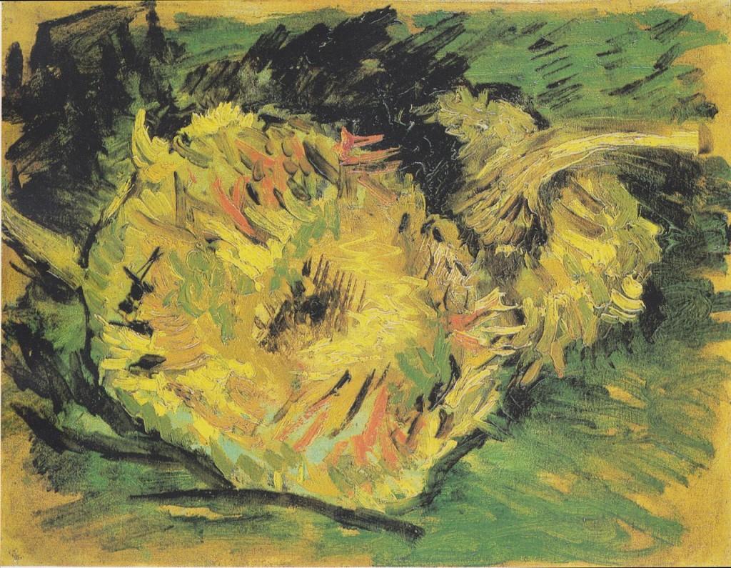 van gogh Słoneczniki obraz olejny do dekoracji ścian, reprodukcje i fotoobrazy, postimpresjonizm,