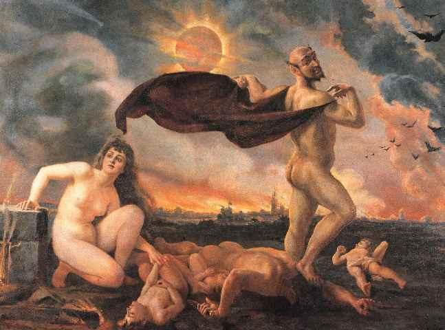 obraz Jana Matejki obraz olejny reprodukcja na płótnie triumf szatana