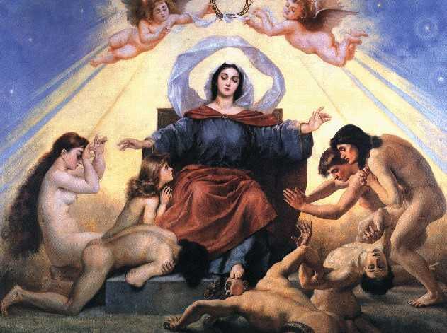 obraz Jana Matejki obraz olejny reprodukcja na płótnie alegoria nauki