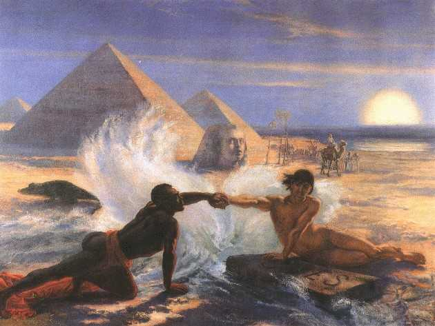 obraz Jana Matejki obraz olejny reprodukcja na płótnie suez