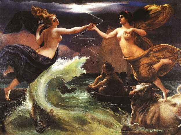 obraz Jana Matejki obraz olejny reprodukcja na płótnie ameryka i europa