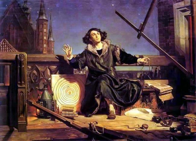 obraz Jana Matejki obraz olejny reprodukcja na płótnie Mikołaj Kopernik