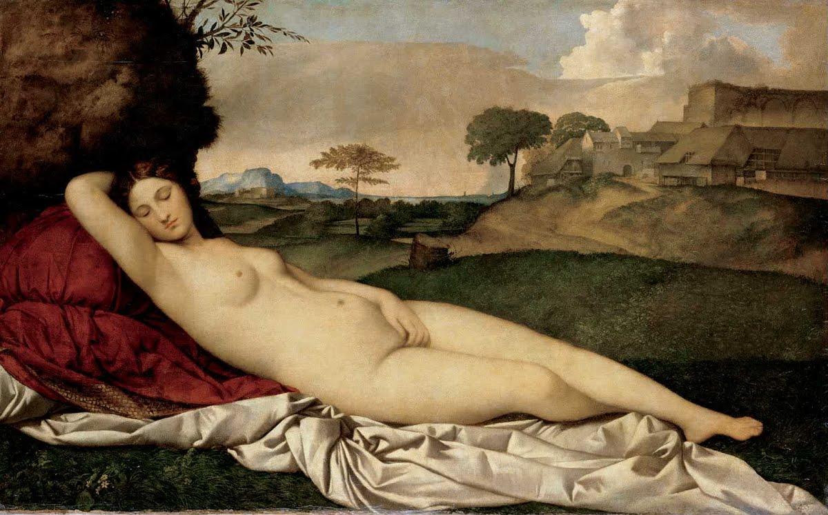 """Obraz """"Śpiąca Wenus"""" Giorgione"""