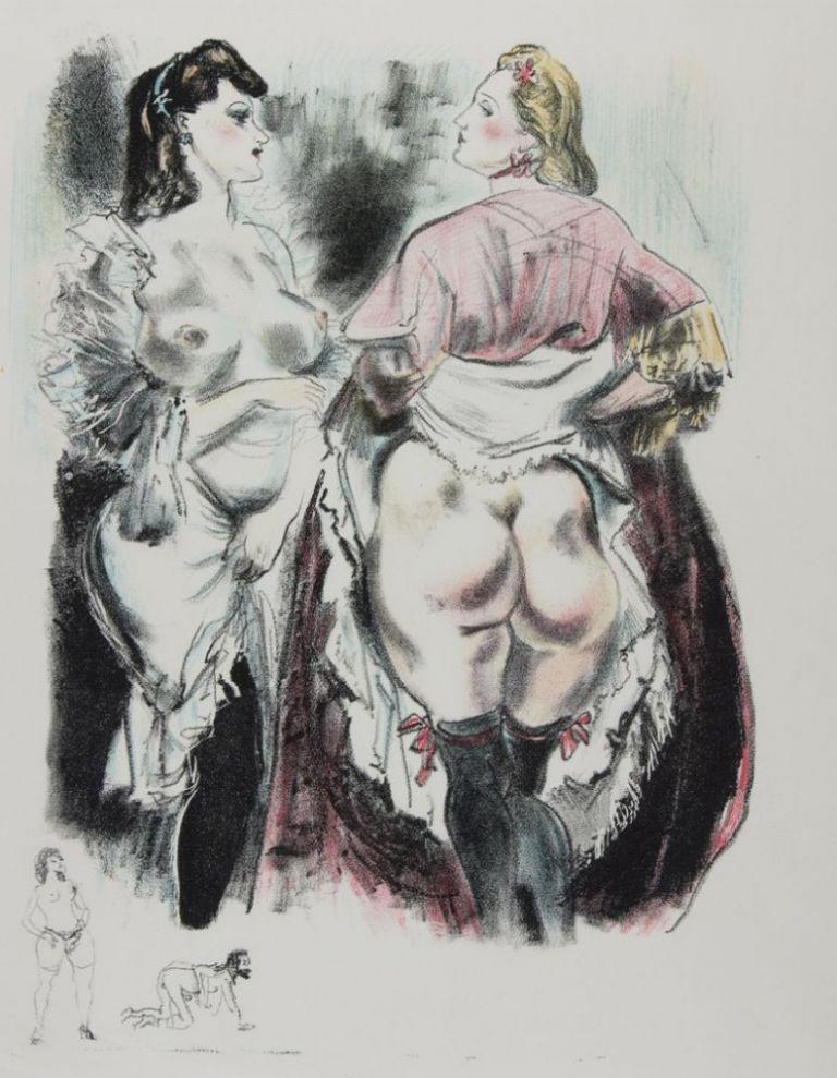 Obrazki erotyczne Berthommé de Saint André, Dwie potencje