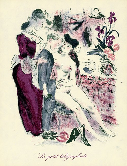 Obrazki erotyczne Berthommé de Saint André, Mały listonosz
