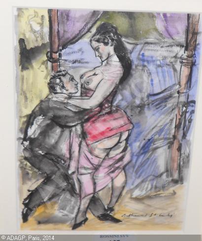 Obrazki erotyczne Berthommé de Saint André, Para