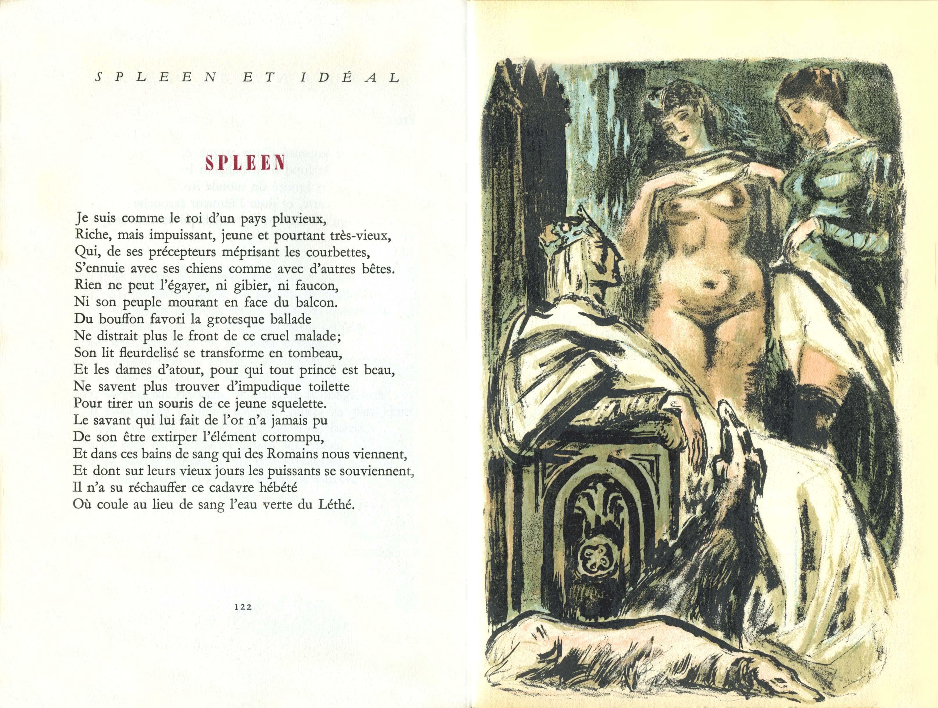 Obrazki erotyczne Berthommé de Saint André, Znudzony król