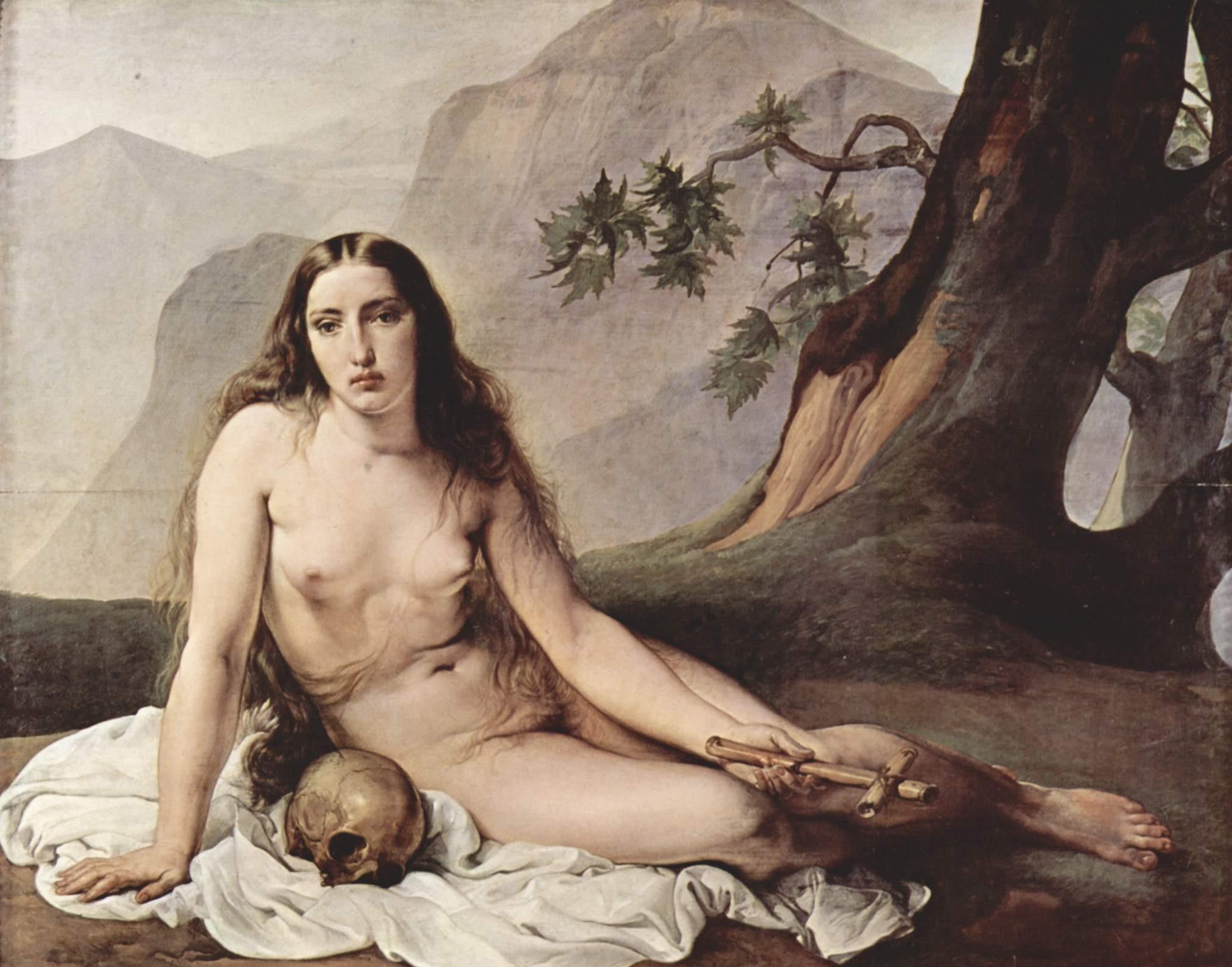 Maria Magdalena na obrazie Francesco Hayeza